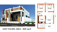 House Elevation, Front Elevation, Indian House Plans, House Front Design, Indian Homes, Modern House Plans, Floor Design, Ground Floor, Aloe