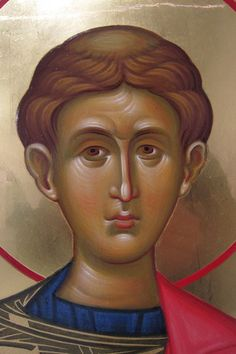 Photo Byzantine Icons, Orthodox Christianity, Orthodox Icons, Fresco, Saints, Contemporary, Face, Painting, Angels