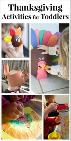 Fun activities that you can do with toddlers to celebrate Thanksgiving!