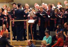 The incredible Phoenix Choir at the Unitarian Universalist Congregation of Atlanta, led by Music Director Donald Milton