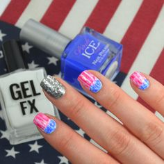 Rep the red, white, & blue #ManiMonday | rue21