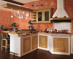 30 Cucine in Muratura Rustiche dal Design Classico | Mexican ...