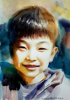 Portrait, Artist, Fictional Characters, People, Watercolor Painting, Portrait Illustration, Fantasy Characters, People Illustration, Portraits