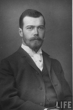 Czar Nicholas II.  No denying--he was a  handsome man.