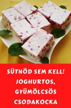 Könnyű elkészíteni! #gyümölcs #joghurt Feta, Ale, Dairy, Bread, Cheese, Yogurt, Ale Beer, Brot, Baking