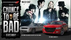 #MötleyCrüe fan? Don't miss the #Dodge #ChanceToBeBad giveaway! Find out how Flash Point created a promo that #rocks! #CTBB #giveaway #digitalmarketing #automotive #fpc #adagency #office #officetricks #guitar #promotion