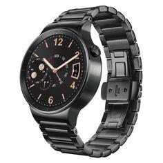 Huawei Watch BlackHuawei Watch W1 to niezwykłe urządzenie, które łączy prawdziwe zegarmistrzowskie rzemiosło z wyjątkowymi mobilnymi technologiami jakie prezentują tzw. wearables.   #TimeTrend #smartwatch #Huawei
