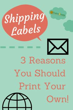 3 Reasons You Should Print Your Own Shipping Labels | Creative Income