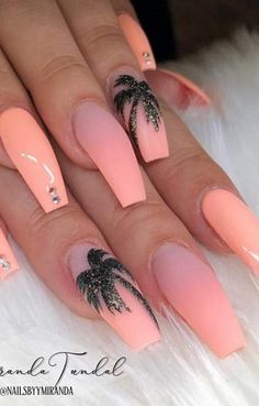 The Fairest Pink Manicure of the Summer Aqua Nails, Light Blue Nails, Pink Manicure, Polygel Nails, Coffin Nails, Cute Simple Nails, Perfect Nails, Cute Nails, Pretty Nails