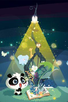 I don't get it but Im still pinning it Cartoon Panda, Kawaii Illustration, Panda Love, Cute Art, Whimsical, Creatures, Snoopy, Illustrations, Shapes