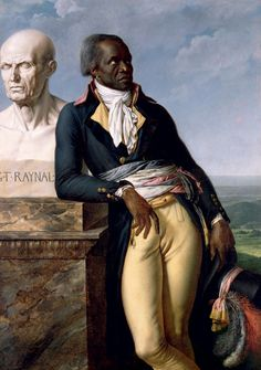Portrait de Jean-Baptiste Belley, député de Saint-Domingue (Anne-Louis Girodet de Roucy Trioson, 1797, Versailles)