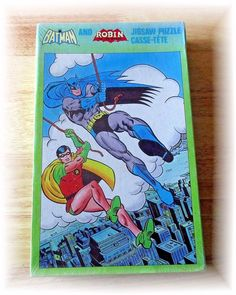 1981 Batman and Robin 200 Piece Puzzle Sealed Jigsaw Vintage #AmericanPublishing