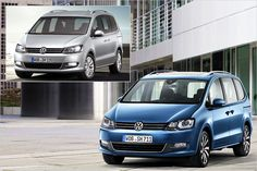 VW Sharan Facelift