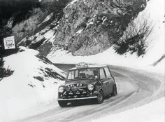 #177 - the Winner car of the 1967 Rally Monte Carlo driven by Rauno Aaltonenand Henry Liddon.