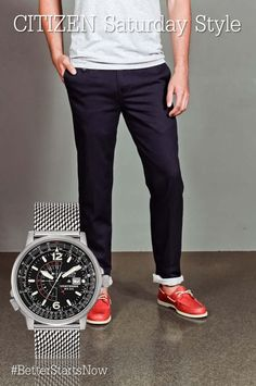 Whether novice or professional, this pilot's watch is sure to turn some heads. Citizen Watches, Men's Watches, Watches For Men, Citizen Eco, Watch Companies, Stylish Watches, Pilot, Corner, Model