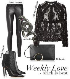 Weekly Love: Black is Best