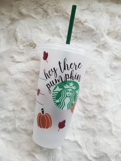 Starbucks Cup Art, Custom Starbucks Cup, Starbucks Tumbler, Best Friend Gifts, Gifts For Friends, Friends Family, Bullet Journal Diy, Halloween Cups, Custom Cups