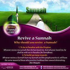 #sunnah #revive
