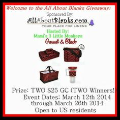 All About Blanks Giveaway – Ends 3/26/14 mysillylittlegang.com