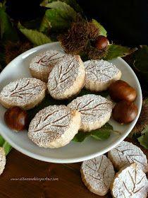 El Zurrón de los Postres: Polvorones de Castaña Vegan Dessert Recipes, Cooking Recipes, Sweet Cookies, Almond Cakes, Candy Shop, Shortbread Cookies, Plant Based Diet, Christmas Cookies, Sweet Recipes