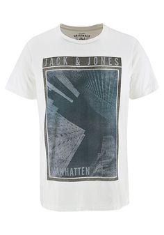 Für Fans des American way of life! Das stylische T-Shirt von Originals by Jack & Jones im urbanen Retro-Style ist überall ein lässiger Begleiter.