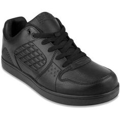 Tredsafe Men's Axel Slip Resistant Athletic Shoe, Black