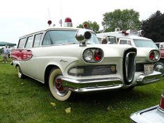 1958 Edsel Amblewagon, Chicagoland Emergency Vehicle Show 2009 by SEMICH_EL, via Flickr