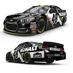New looks for 2017  Thursday, February 9, 2017  Jimmie Johnson: No. 48 Kobalt Chevrolet for Hendrick Motorsports  Photo Credit: @LowesRacing