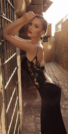 Sexy Black Evening Dresses(23) – Galia Lahav Moonstruck 2014 _chaisen - 美丽鸟