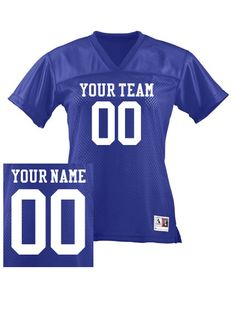 personalize your own jersey