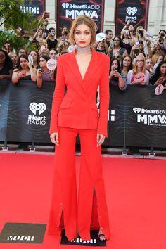 Gigi Hadid en Mugler aux iHeartRADIO MuchMusic Video Awards 2016