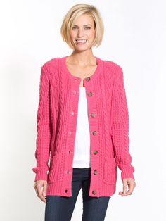 Cable-knit Cardigan, Ladieswear