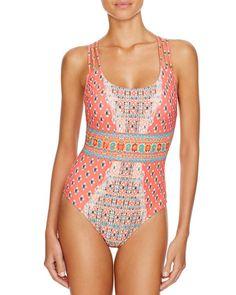 Nanette Lepore Bindi One Piece Swimsuit