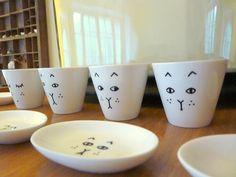 Painted porcelain