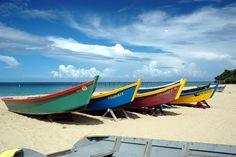 Photo about Beautiful fishermens boats. Image of aguadilla, puertorico, tropical - 269149
