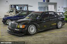 Turbo aspired Mercedes 190E DTM replica #DTM #SpeedHunters