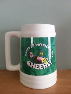 St. Patrick's Day Beer Mug Cheers TB Toy Trading Company