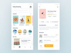 Reading App by Tony Sun