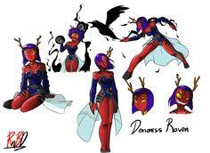 Raven the Demoness by RednBlackDevil on DeviantArt