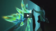Bloom is an interactive installation that reacts to the movement and the gestures of the public. By using a laser touch interactivity the public generates blooming…