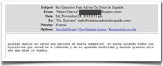 Testimonio 56 - Elimine Su Dolor De Espalda     http://www.ElimineSuDolorDeEspalda.com/blog