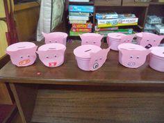 Autumn Crafts, Financial Literacy, Toddler Crafts, New Job, Pre School, Piggy Bank, Diy And Crafts, Classroom, Math