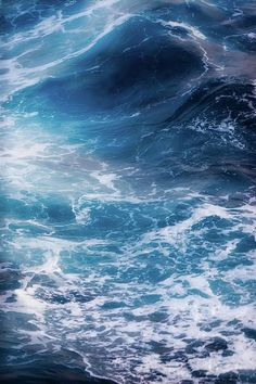 Share with me the Love of the Ocean Beach Surf Catch a Wave Barrel Big waves No Wave, Water Waves, Sea Waves, Sea And Ocean, Ocean Beach, Ocean Art, Deep Blue Sea, Light Blue, All Nature