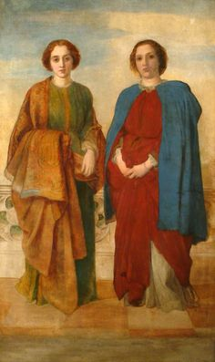 The Sisters George Frederic Watts (1817–1904) Watts Gallery