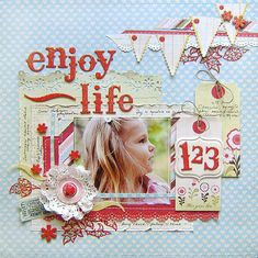 Love this page by Karola Witczak posted to Scrapbook.com