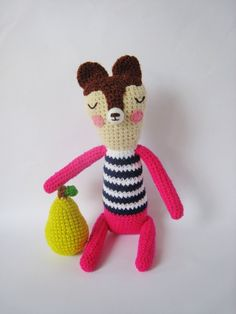 Billy and Pear By Pfang. I love her work!