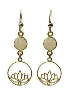 ea5b8180ba60c1 Aurora Gold Earrings worn by actress Candace Cameron Bure on Aurora  Teagarden Mystery. Candace Cameron