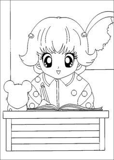 Desenhos para colorir Hamtaro 20