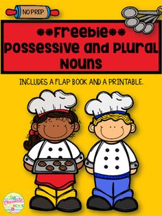Possessive NounsI made this freebie unit to celebrate completely redoing my #1 best selling unit on possessive nouns.  You can see the revised unit HERE.Here is what is included in this unit:One flap book- sort possessive and plural wordsOne cut and paste sorting possessive and plural words I also just updated my proper noun unit.