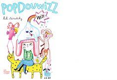 Popdouwizz Lili Scratchy (texte et illustrations) Publié chez LES FOURMIS ROUGES